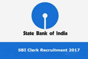 sbi clerk notification 2017-18