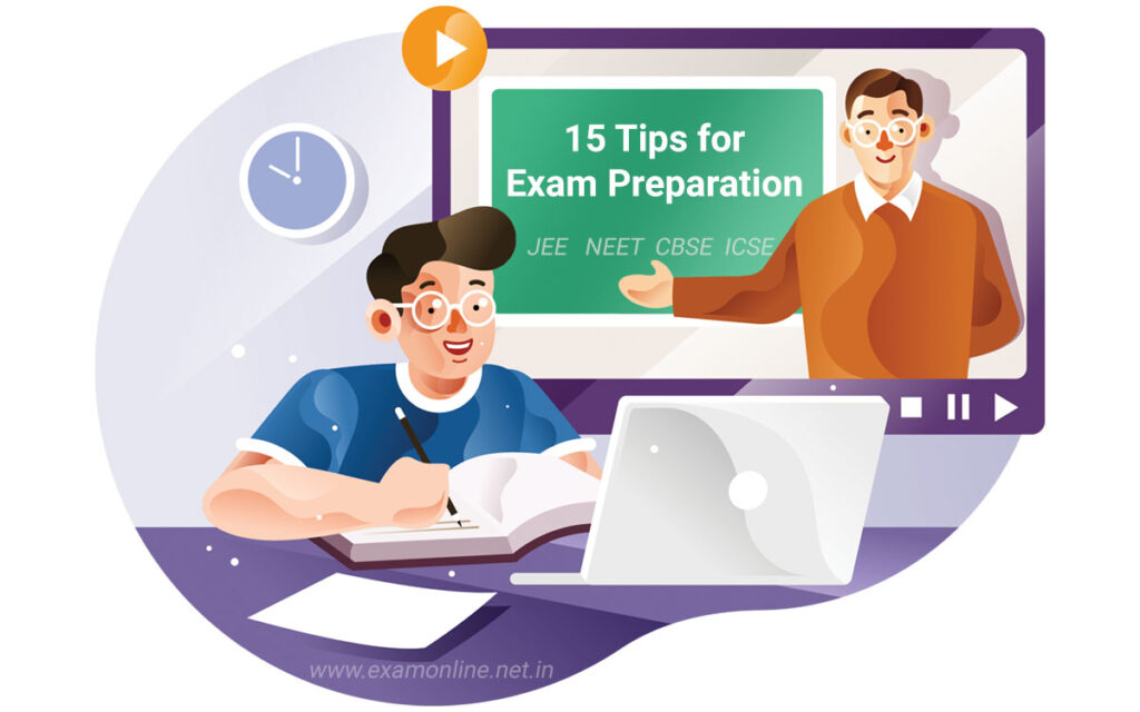 15 tips for exam preparation