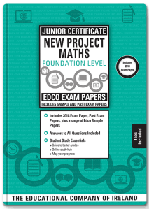 edco exam paper maths foundation level junior certificate