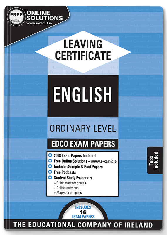 leaving cert edco exam papers english ordinary level