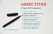 types-of-adjectives