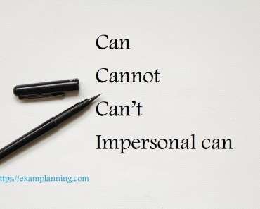 Can-–-Cannot-–-Can't-Impersonal-can
