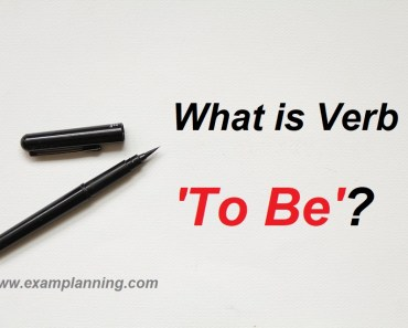 what-is-verb-to-be-examples