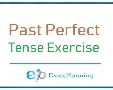 Past perfect tense exercises
