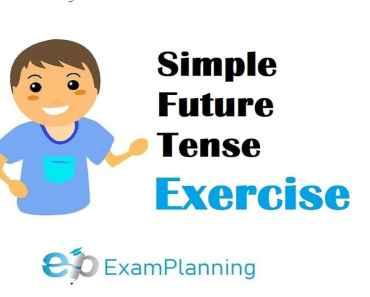 simple future tense exercises