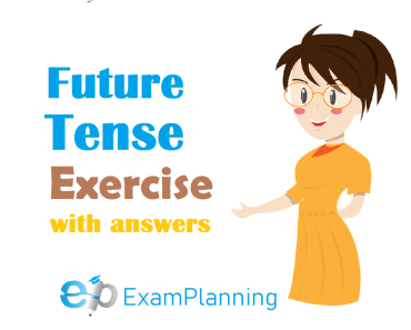 Future tense exercises with answers