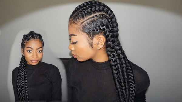 CORNROWS Female Hairstyle