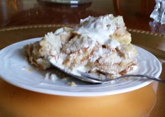 mama's famous banana pudding