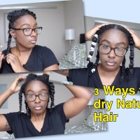 3 Ways to Air Dry Natural Hair