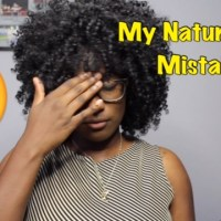 Natural Hair Mistakes!