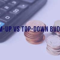 Bottom-Up vs Top-Down Budgeting