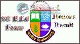 NU B.Ed Honours Result