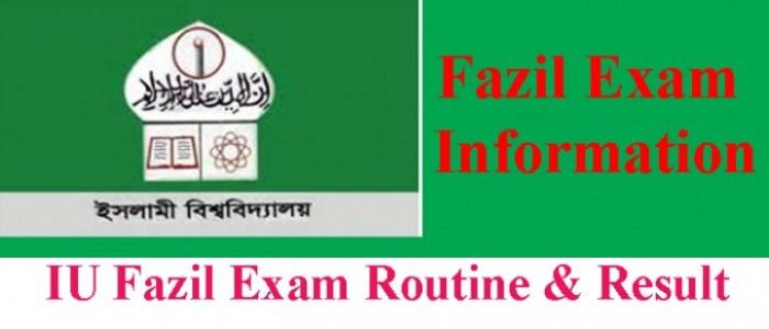 Fazil Exam Routine