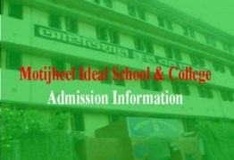 motijheel Ideal School & College Admissions Circular