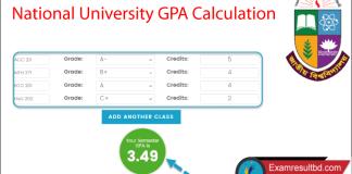 NU GPA Calculation System