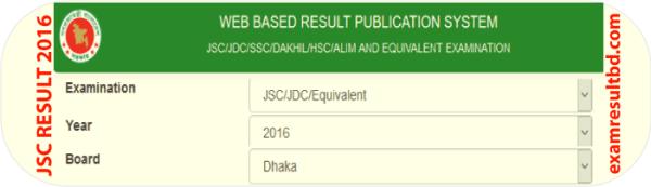 Check JSC Result 2017 online