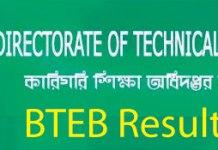 www.bteb.gov.bd Result