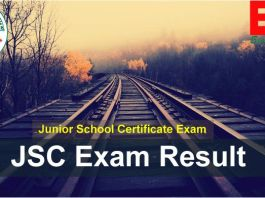JSC Result 2018