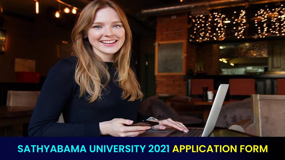 Sathyabama University 2021 Application Form