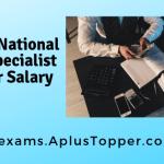 Punjab National Bank Specialist Officer SalaryStructure