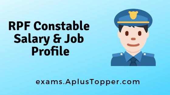 RPF Constable Salary