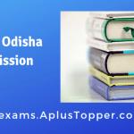 SCERT Odisha Admission