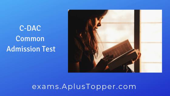C-DAC Common Admission Test