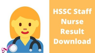 Photo of HSSC Staff Nurse Result Download