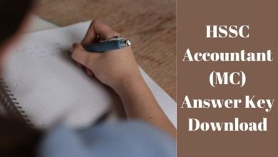 Photo of HSSC Accountant (MC) Answer Key Download