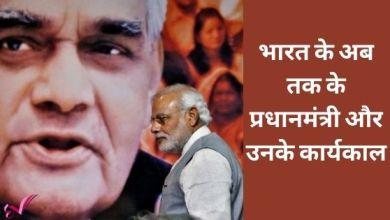 Photo of भारत के अब तक के प्रधानमंत्री और उनके कार्यकाल