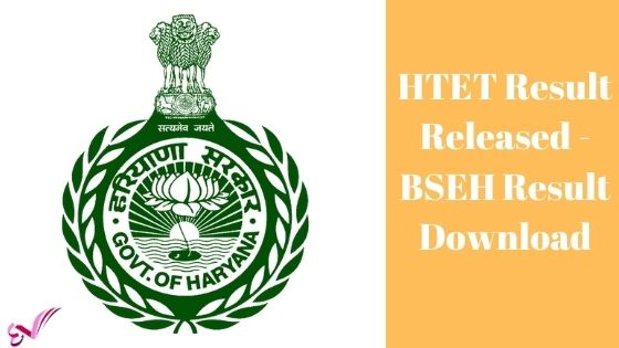HTET Result Released - BSEH Result Download