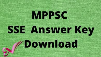 Photo of MPPSC SSE Answer Key Download