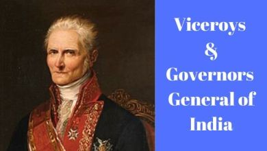 Photo of Viceroys & Governors – General of India
