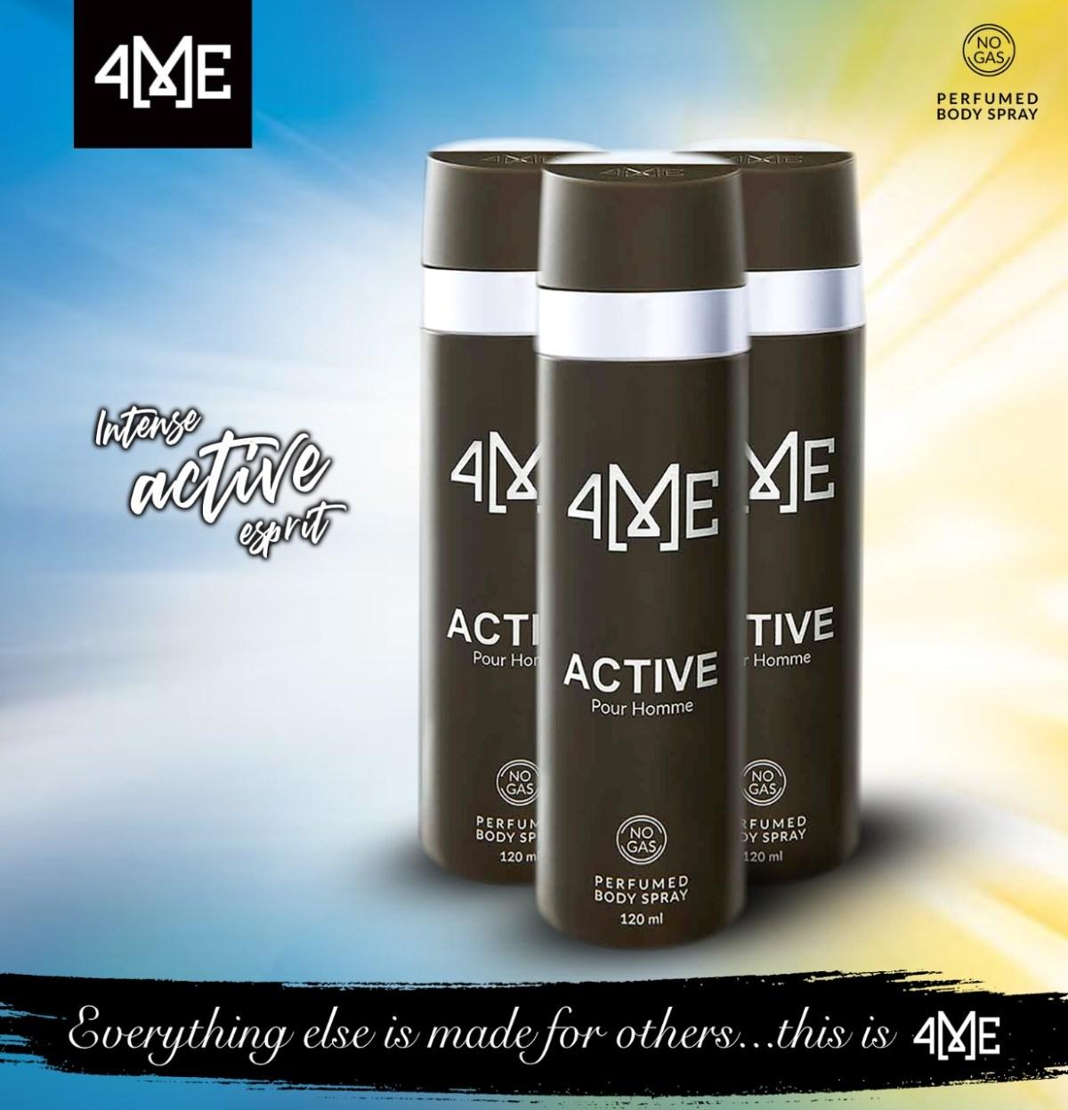active body spray