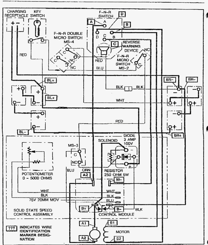 Wiring Diagram Ezgo Golf Cart