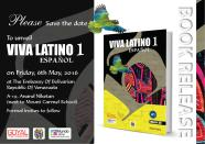 Viva Latino Book launch - Save the date invite
