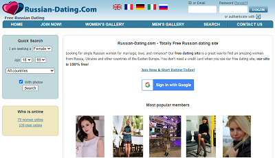 Russian Ladies Dating App