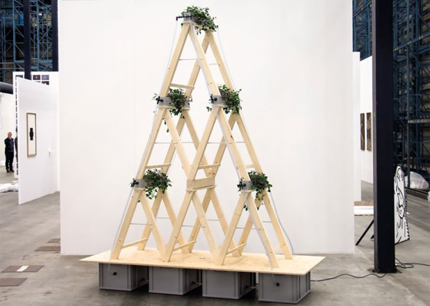 Expositie Menno Hiele in EXbunker tentoonstelling ruimte Utrecht.
