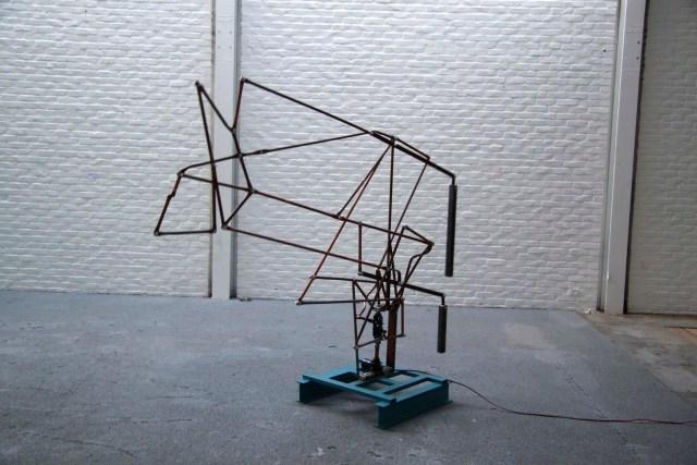 Beeldende kunst Expositie / Art Exhibition Bart Nijboer in EXbunker tentoonstelling ruimte / art space Utrecht.
