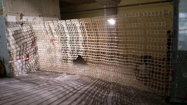 Expositie / Exhibition Luuk de Wit EXbunker tentoonstelling ruimte / art space Utrecht.
