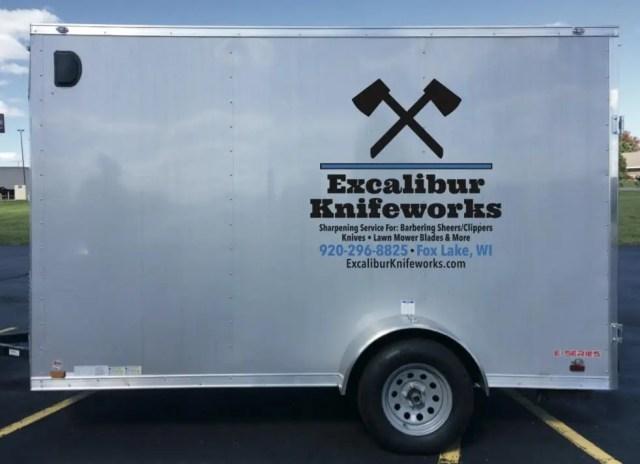 Excalibur Knifeworks Trailer