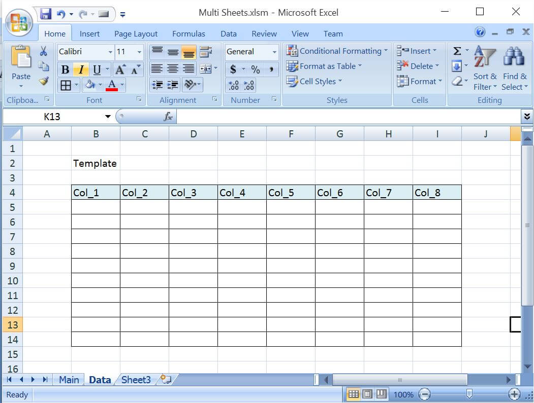 Refresh Worksheet In Excel