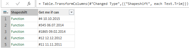 Transform table column using own function in Power Query | Excel City