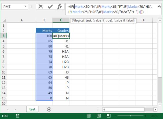 xlf-marks-grades-test-array
