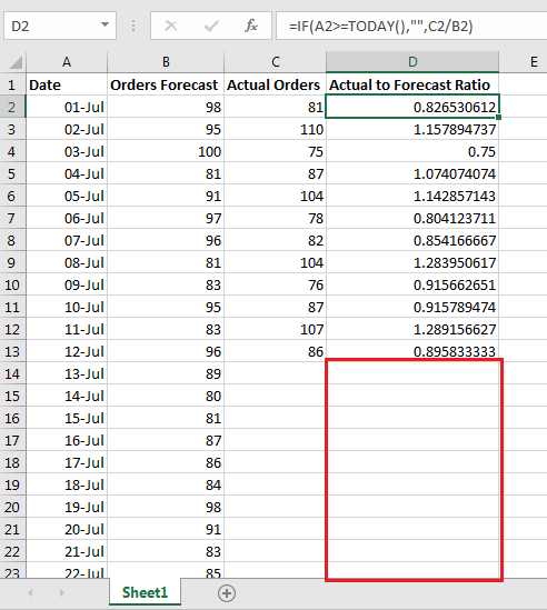 Hide results based on Date 6