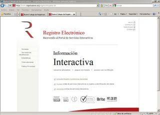 Registro mercantil electrónico