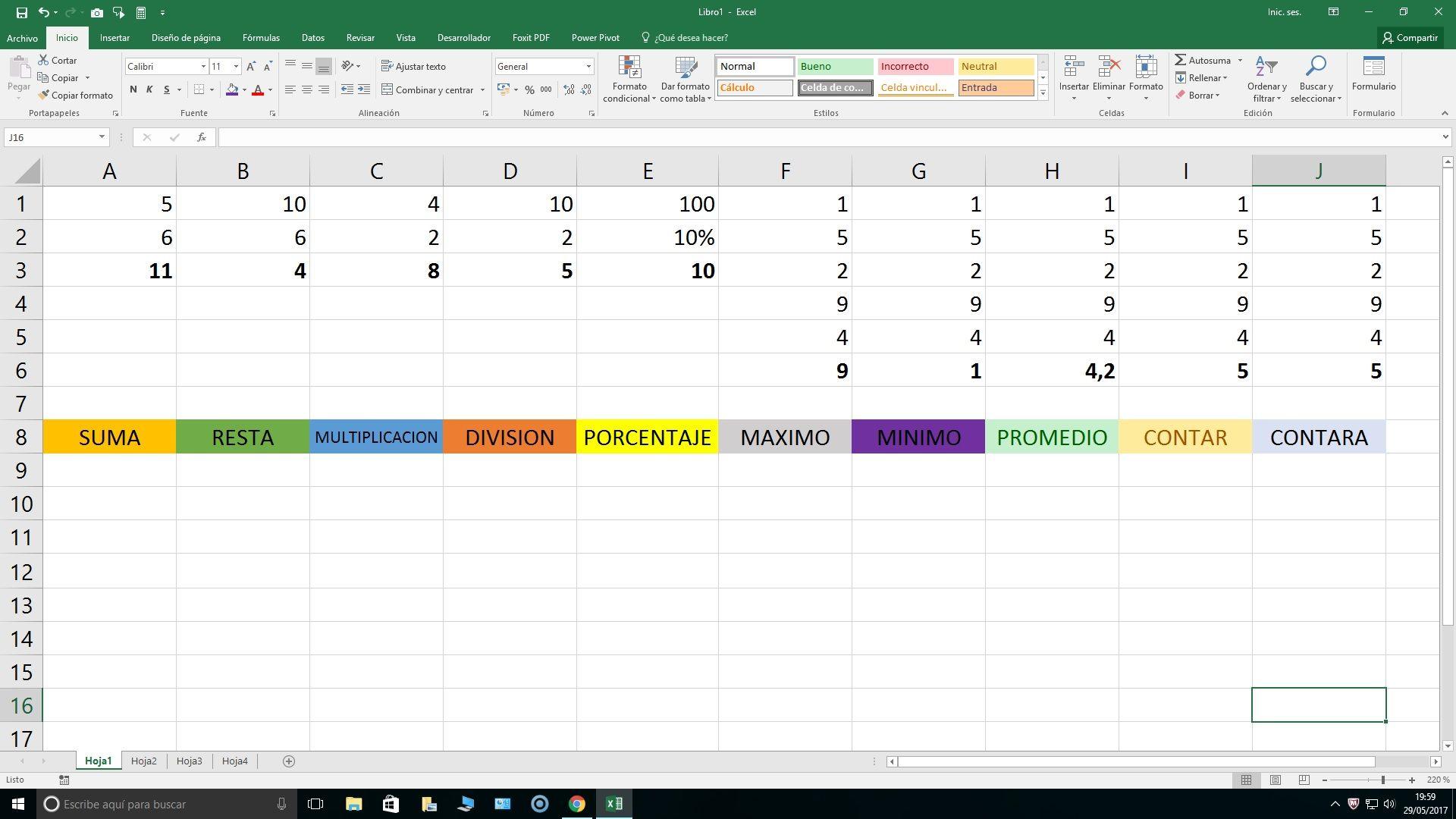 Conoce ? 20 funciones Excel y ejemplos prácticos ?20 ?