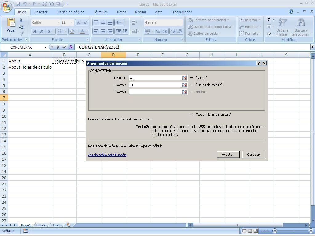 Formulas En Excel Hojas De Calculo A Nivel Intermedio