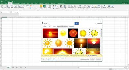 Insertar Imagen Excel en linea
