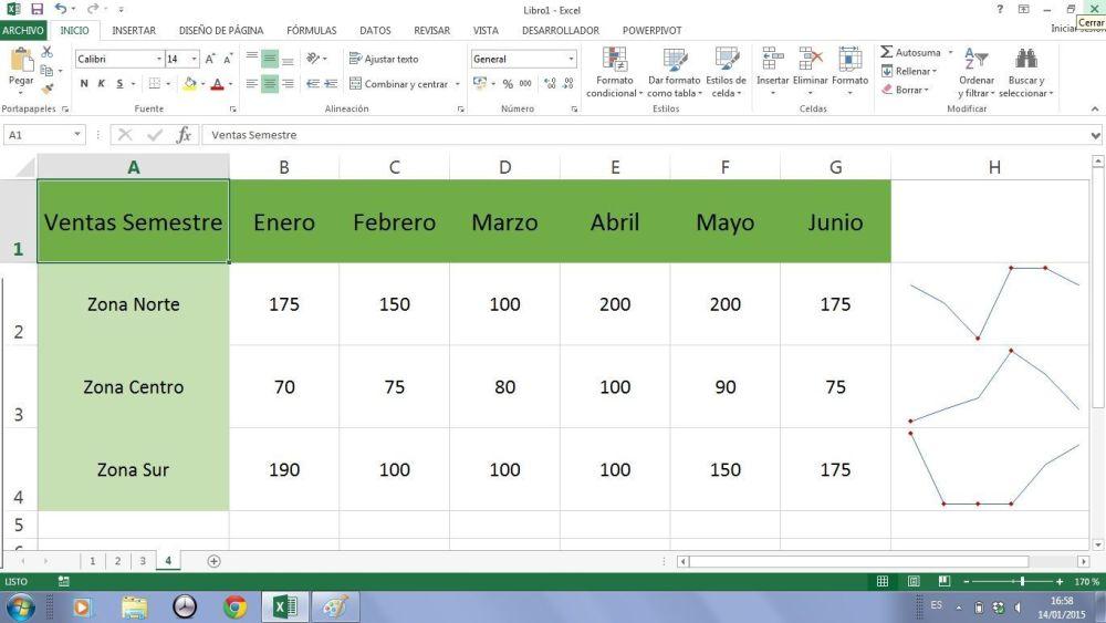 minigraficos Excel